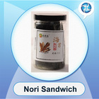 seasoned seaweed/nori sandwiches