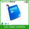 12V 10AH lithium battery 12v light weight battery packs
