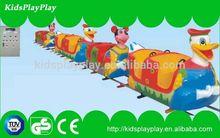 2014 new styles commercial amusement park electric train for sale