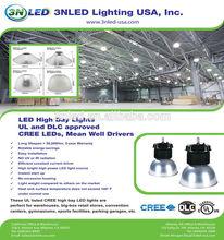 sliver lamp cover high bay DLC/cUL/UL led high bay light high bay light