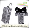 Zebra Makeup Beauty Case Professional Cosmetic Luggage