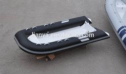 Liya open rib 3m to 3.3m rigid hull inflatable boat china