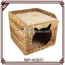 SD square banana leaf folding cat litter box