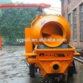 a china fez bomba de concreto com misturador de reboque