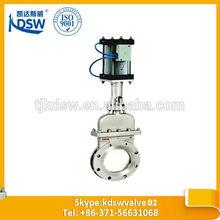 pneumatic non-rising stem knife gate valve
