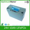 24v 10ah electric golf trolley lithium 24 volt battery packs