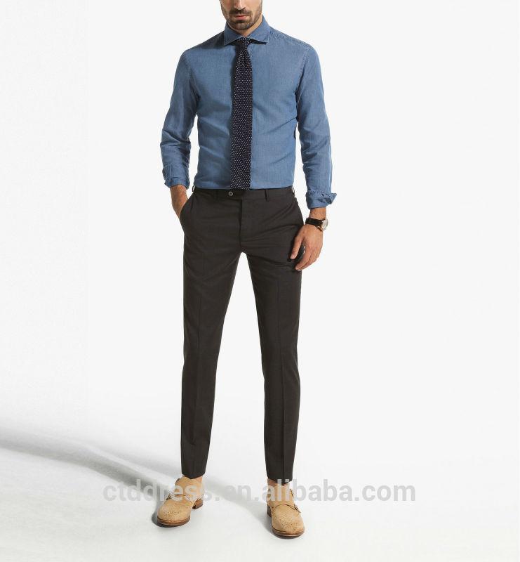 dark brown dress pants - Pi Pants