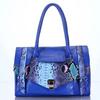 fashionable snake-print bag ladies stylish hand bag