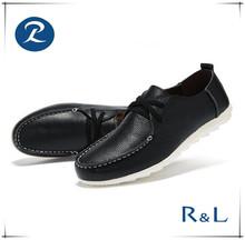 Sunshine leisure products new style fashion leather safety shoe