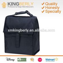 personal zip school lunch box frozen cooler lunch bag, durable deluxe insulated lunch cooler bag