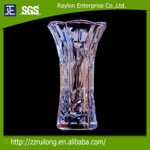 slim purple glass vase/beautiful and colorful vase for flower