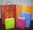 printed brown paper bags&brown kraft paper bags&brown paper gift bags