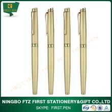 Top Quality Luxury Golden Solid Brass Pen