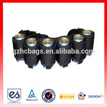 Hot Sell Custom Beer Cooler Belt Bottle Flat Bag ESL-BB001