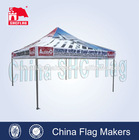 biggest textile fabric printing folding tent, waterproof canvas fabric for tent