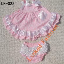 2014 Hot Sale! New design 1-6 years old wedding flower girl dress