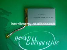 tablet pc battery 3.7v 6000mah