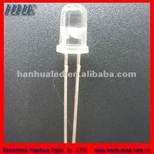 shenzhen 2014 5mm high voltage 6500k white12v dip led diode with resistors