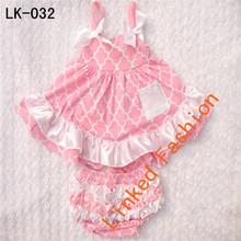 New design white charming apparel baby girls dress