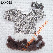 2014 New Design Chiffon Asymmetric Flower Girl Dress