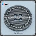 Aleación de Zinc flatback botones de metal que hace la máquina