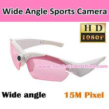 Portable Sport Wireless Pinhole Camera Glasses DVR