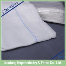 100% cotton medical gauze lap ideal for patient needs