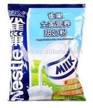 Plastic food packaging bag for tea/coffee/cookie/milk powder,ect