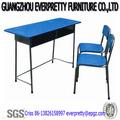الأطفال منضدة وكرسي خشبي، مكتب الأطفال مع الإطار المعدني، الخشب الرقائقي لمقعد الأطفال