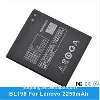 BL198 2250mAh Battery for Lenovo S880 K860 K860i S880i S890 A830 A850