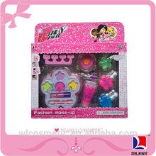 Girls makeup play set safe nail polish