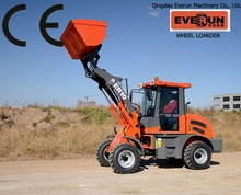 EVERUN China articulated with low price jcb backhoe loader with price