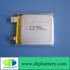 3.7v 380mah lithium polymer battery cell rechargeable battery