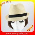 Atacado Mini chapéu de palha