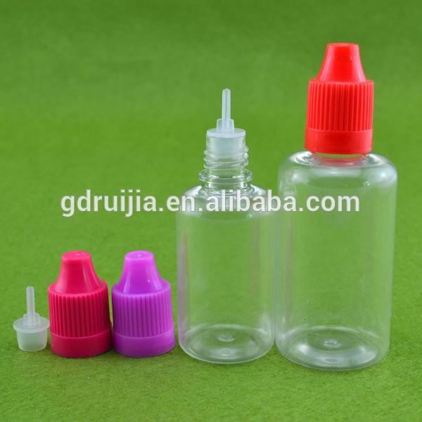 Reciclado garrafasdeplástico atacado 10ml frasco conta-gotas de plástico com tampa de segurança muito fina ponta do triângulo brille atacado
