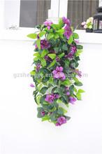 2014 new design plastic ivy decoration artificial flowers vine