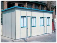metal sheet roof prefab houses low cost