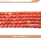 Super top quality natural gemstone red agate semi-precious stone