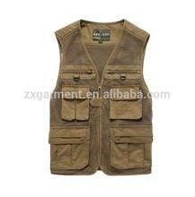 Mesh Fabric Mutiple Pocket Fishing vest
