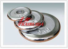 Used in weight lifting high quality chrom plates