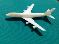 hot sale 1:100 sculpture airplane model , mini aircraft models, ABS plastic plane for home design