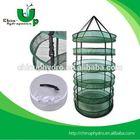 Hydroponics Nylon Mesh Hanging Drying Racks/Drying Net pet flakes hot washing line