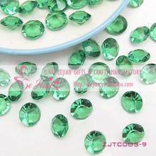 Green Diamond Table Confetti Wedding Party Confetti Decoration