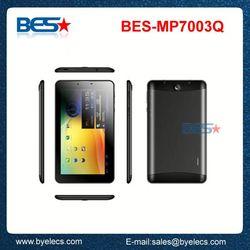 With incredible HD screen otg gps 7 inch mtk8312 dual core sim card 3g f2 tablet pc mid dual sim phone