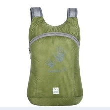 2014 colorful hiking backpack with fingerprints printing