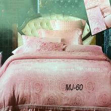 Wholesale luxury branded bedding silk satin bedspreads