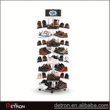 Best selling acrylic shoe racks for shops