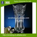 baratos de alta qualidade tall clear bela flor em forma de martini vidro vaso
