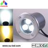 IP67 landscape 4500K white 3W LED inground lights