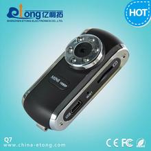 IR Low lux Portable Clip 1080p Full HD Mini hidden Camera